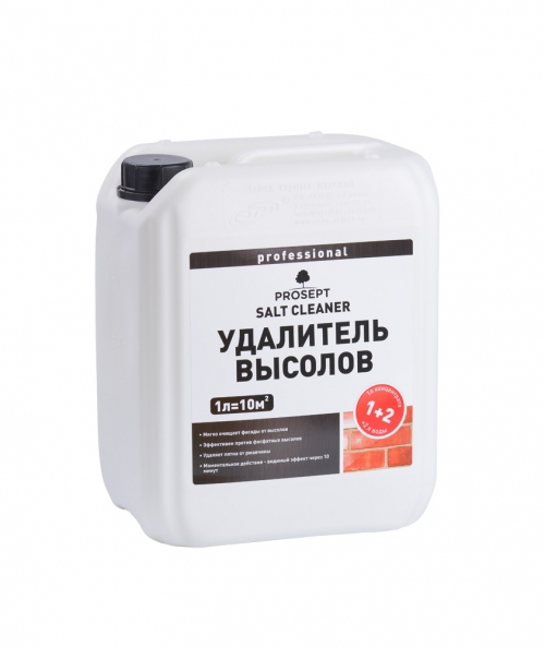 PROSEPT SALT CLEANER. Удалитель высолов 1:1, 5л